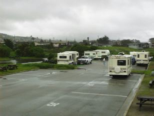 Camping at the Strand in Morro Bay